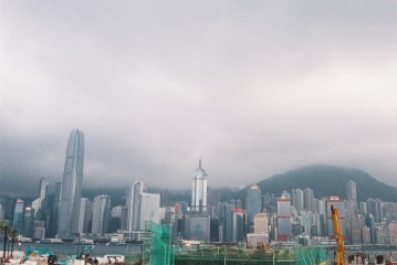 View from M+ Pavilion in West Kowloon