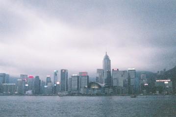 View from Star Ferry, Tsim Sha Tsui