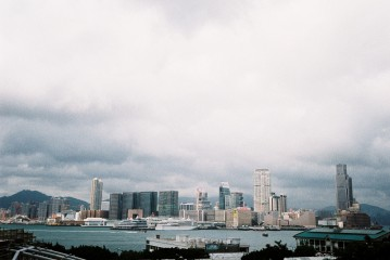 View of Kowloon from ifc mall, Central