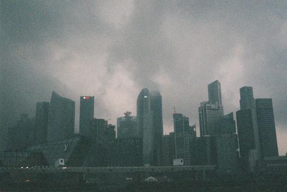 Not Gotham, just Singapore