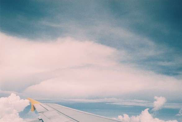 Your typical photo from the window seat