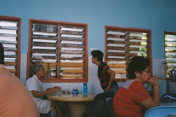At the kopitiam across the street from Silalima