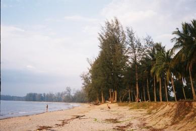 Cherating Beach on a Sunday morning