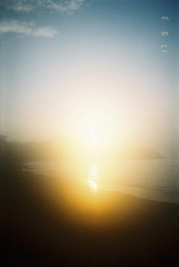 Woke up to catch the sunrise