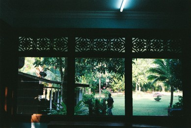View from Tanjung Inn's library
